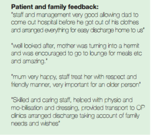 patient and family feedback